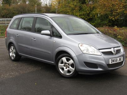 2008 Vauxhall Zafira 1.6 Exclusive
