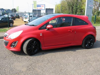 2011 Vauxhall Corsa 1.2 Limited Edition