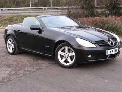 2009 Mercedes SLK  200 Kompressor Auto - SOLD