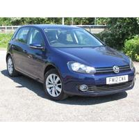 2012 Volkswagen Golf 1.6 TDi Bluetech Match