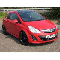 2011 Vauxhall Corsa 1.2 Limited Edition - SOLD