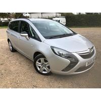 2013 Vauxhall Zafira 1.8 Exclusive-Low Mileage