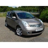 2008 Nissan Note 1.6 Tekna AUTOMATIC