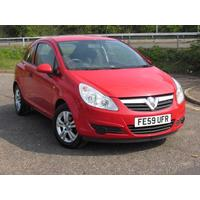 2009 Vauxhall Corsa 1.0 Active - Low Mileage
