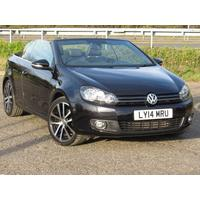 2014 Volkswagen Golf 2.0 TDi Bluemotion Tech GT Cabrio