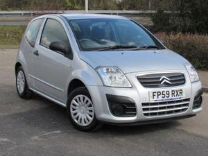 2009 Citroen C2 1.4 VTR - Low Mileage