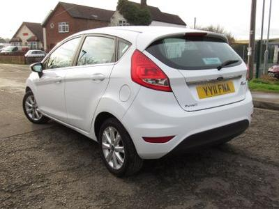 2011 Ford Fiesta 1.25 Zetec - Low Mileage